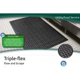 Tapis industriel Triple-flex