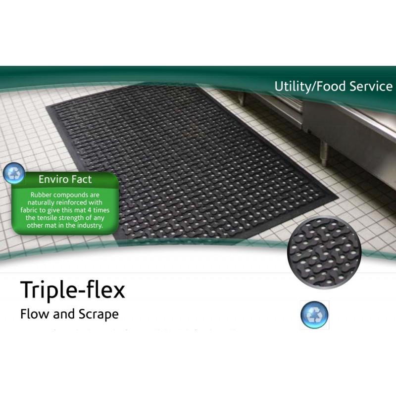 Tapis industriel Triple-flex - Tapis industriels - Tapis Publicitaire