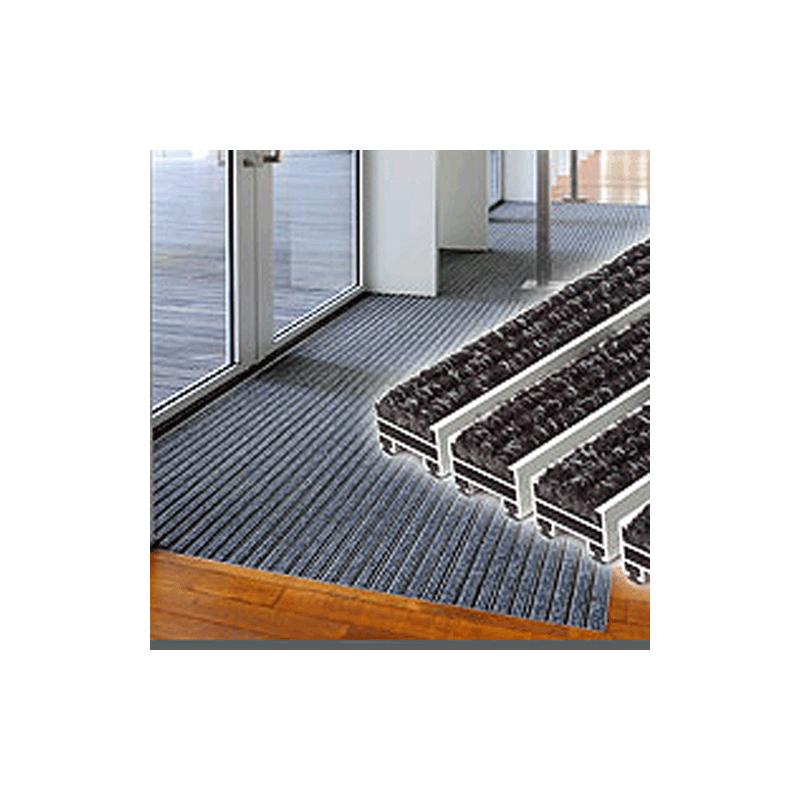 tapis profil alu ultra clean 10mm d 39 paisseur tapis d 39 entr e alu tapis publicitaire. Black Bedroom Furniture Sets. Home Design Ideas