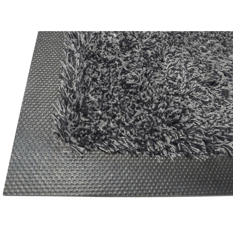 tapis coton deluxe gris fonce 115x180cm revendeurs tapis publicitaire - Tapis Coton