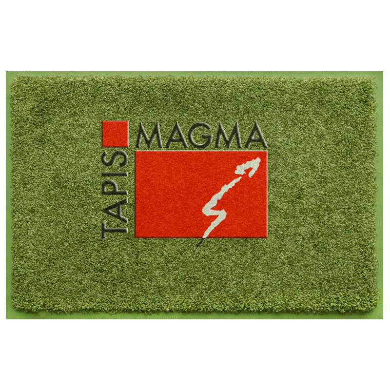 Tapis logo bord couleur