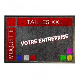 Tapis moquette Logo XXL grande tailles