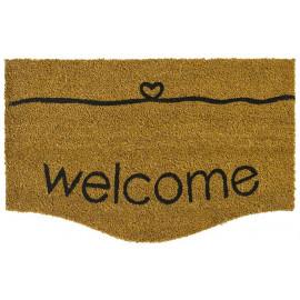 Paillasson Coco Ecru Welcome