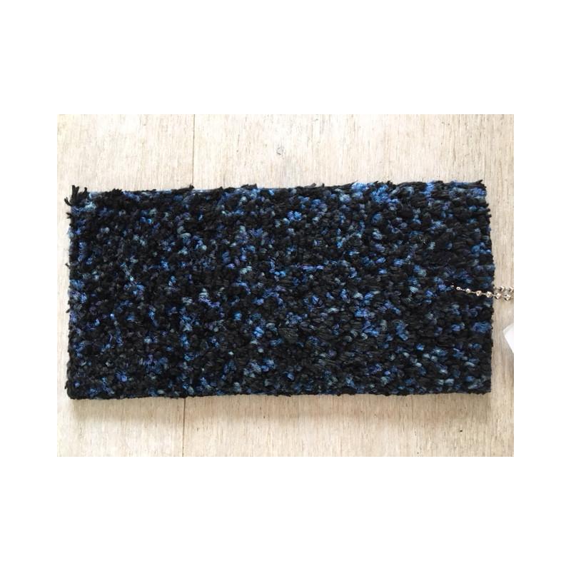 Tapis D Entrée Absorbant tapis d'entrée microfibre indigo 60x85 cm ultra absorbant