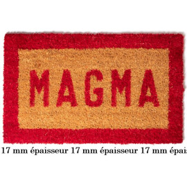 Tapis coco 17mm Lettres et...