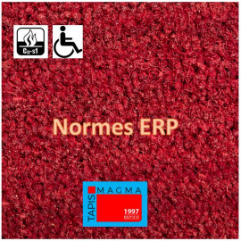 Tapis Coco couleur ROUGE...