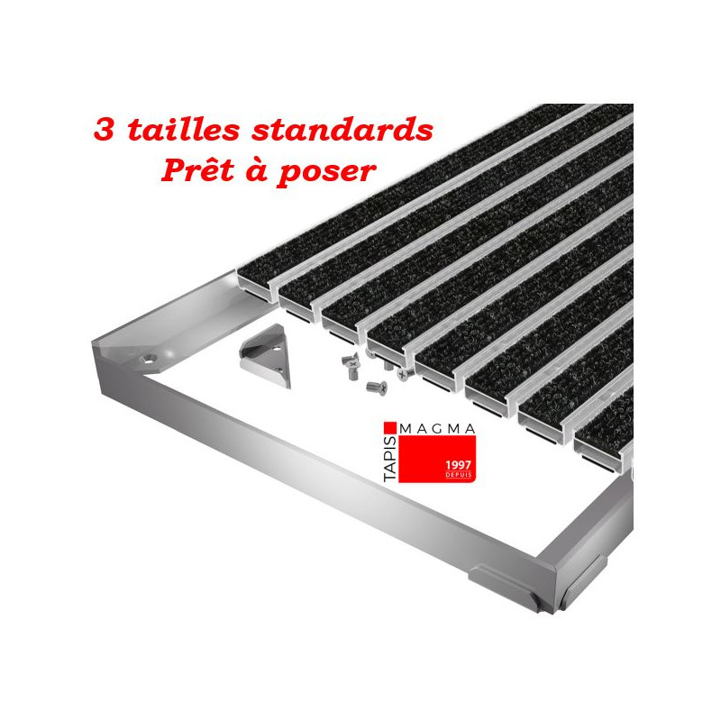 cadre aluminium facile a poser